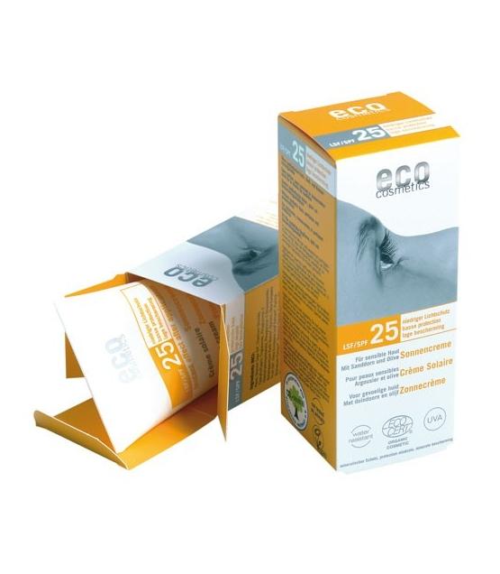 cr me solaire visage corps bio ip 25 argousier 75ml eco cosmetics. Black Bedroom Furniture Sets. Home Design Ideas
