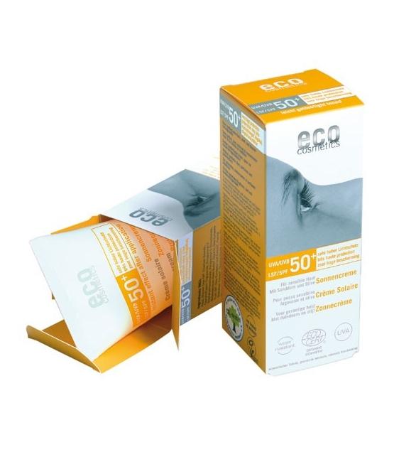 cr me solaire visage corps bio ip 50 argousier 75ml eco cosmetics. Black Bedroom Furniture Sets. Home Design Ideas