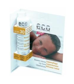 Sonnen BIO-Lippenpflege LSF 30 Granatapfel – 4g – Eco Cosmetics