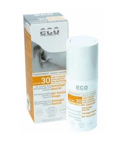 BIO-Sonnengel Gesicht LSF 30 Granatapfel – 30ml – Eco Cosmetics