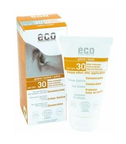 Crème solaire visage teintée BIO IP 30 argousier – 75ml – Eco Cosmetics