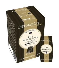 Capsules café Biospresso N°6 Les Grands Crus BIO – 10x5,5g – Destination