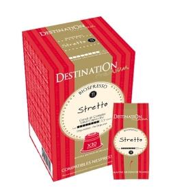 BIO-Kaffekapseln Biospresso Nr.11 Stretto – 10x5,5g – Destination