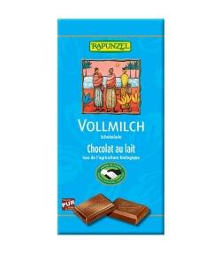 Chocolat au lait BIO – 100g – Rapunzel