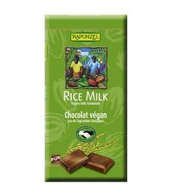 Chocolat végan au lait de riz BIO – 100g – Rapunzel