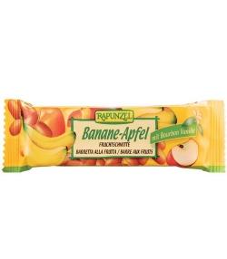 BIO-Fruchtschnitte Banane & Apfel – 40g – Rapunzel