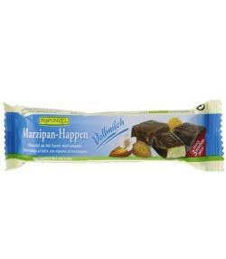 Chocolat au lait fourré au miel & amande BIO – 50g – Rapunzel