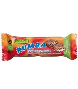 Barre de chocolat au riz soufflé BIO – Rumba – 21g – Rapunzel