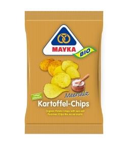 Chips de pommes de terre au sel marin BIO – 70g – Mayka