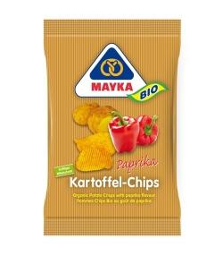Chips de pommes de terre au paprika BIO – 70g – Mayka