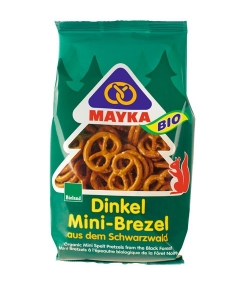 Mini-Brezels à l'épeautre BIO – 150g – Mayka