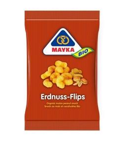 Flips de maïs aux cacahuètes BIO – 75g – Mayka