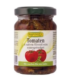Tomates séchées à l'huile d'olive BIO – 120g – Rapunzel