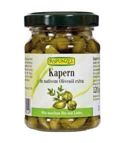 BIO-Kapern in Olivenöl – 120g – Rapunzel