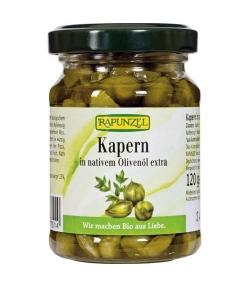 Câpres à l'huile d'olive BIO – 120g – Rapunzel