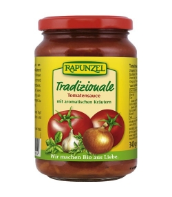 Sauce tomate Tradizionale BIO – 340g – Rapunzel