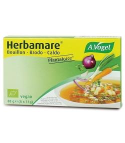 Bouillon de légumes en cubes BIO – Herbamare Plantaforce – 8x11g – A.Vogel
