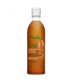 Shampooing doux purifiant BIO citron & romarin – 200ml – Melvita