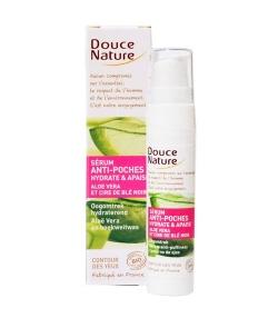 BIO-Serum gegen Tränensäcke feuchtigkeitsspendend Aloe Vera & Buchweizenwachs – 15ml – Douce Nature