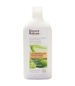 Lait démaquillant hydratant BIO aloe vera & karité – 300ml – Douce Nature