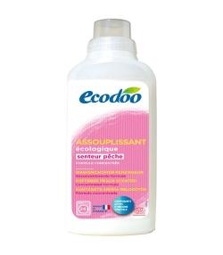 Ökologischer BIO-Weichspüler Pfirsch - 24 Waschgänge - 750ml - Ecodoo