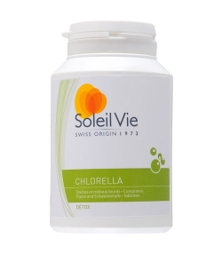 Chlorella BIO – 300 comprimés – Soleil Vie
