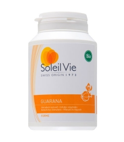 Guarana BIO – 100 gélules – 415mg – Soleil Vie
