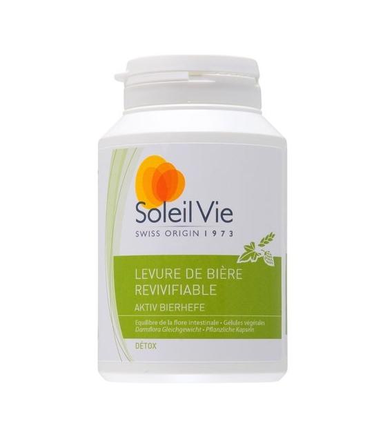 Aktiv Bierhefe - 75 Kapseln - 400mg - Soleil Vie
