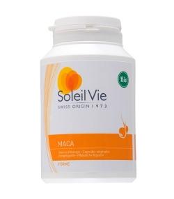 Maca BIO – 120 capsules – 600mg – Soleil Vie
