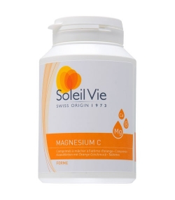 Magnésium C – 100 comprimés – 915mg – Soleil Vie