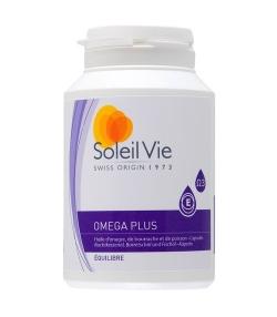 Omega plus – 120 capsules – 686mg – Soleil Vie