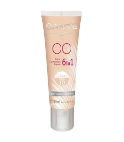 6 in 1 CC BIO-Creme N°10 Light – 30ml – Sante