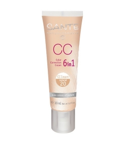CC Crème 6 en 1 N°20 BIO Natural – 30ml – Sante