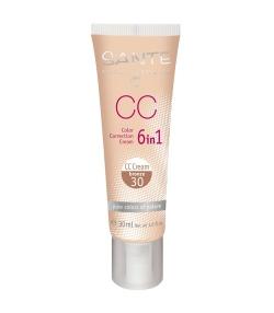 CC Crème 6 en 1 N°30 BIO Bronze – 30ml – Sante
