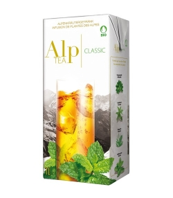 BIO-Alpenkräutergetränk Classic – 1l – Alp Tea