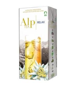 Infusion de plantes des Alpes BIO Relax – 1l – Alp Tea