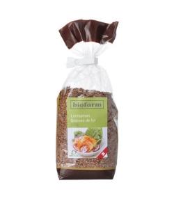 Graines de lin BIO – 200g – Biofarm