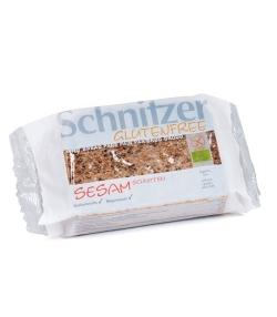 Pain en tranches au sésame BIO – 250g – Schnitzer