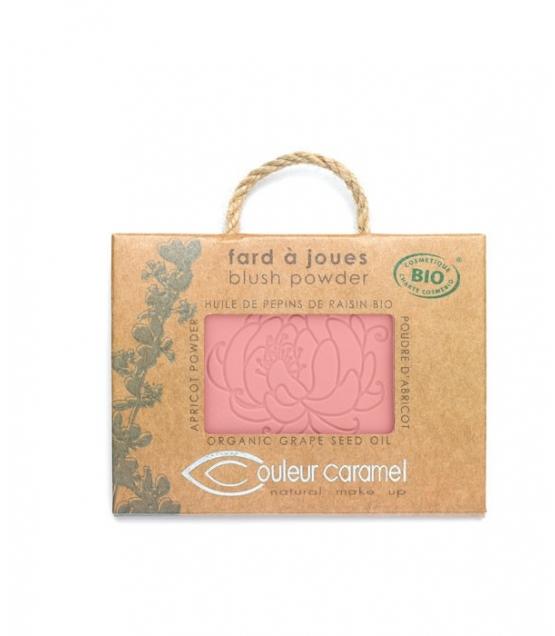 Fard à joues BIO N°52 Rose fraîcheur – 6g – Couleur Caramel