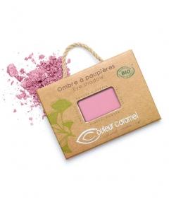 Ombre à paupières mate BIO N°150 Eclat de rose – 2,5g – Couleur Caramel