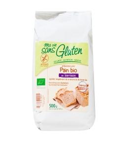 Préparation pour pain au sarrasin BIO - Sans gluten - 500g - Ma vie sans gluten