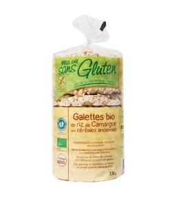 Galettes de riz de Camargue aux céréales anciennes BIO - 130g - Ma vie sans gluten