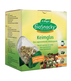 Bocal à germer – bioSnacky – A.Vogel