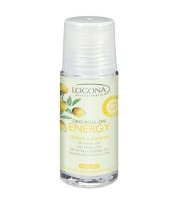 Déodorant à bille BIO citron & gingembre – 50ml – Logona Energy