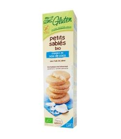 Petits sablés copeaux de noix de coco BIO – 150g – Ma vie sans gluten
