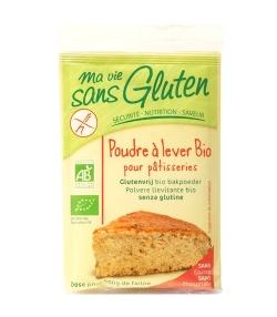 Poudre à lever pour pâtisseries BIO – 3x17g – Ma vie sans gluten