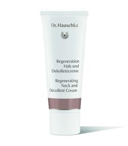 Crème régénérante cou & décolleté BIO trèfle rouge – 40ml – Dr.Hauschka