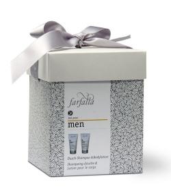 BIO-Geschenkset Wirkungsvolle Männerpflege – Farfalla