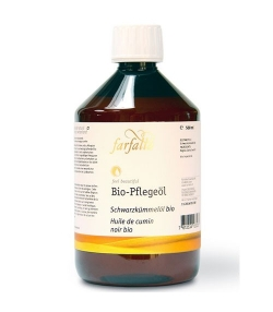 BIO-Schwarzkümmelöl – 500ml – Farfalla