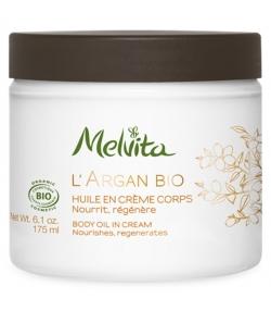 Huile en crème corps BIO argan – 175ml – Melvita L'Argan Bio